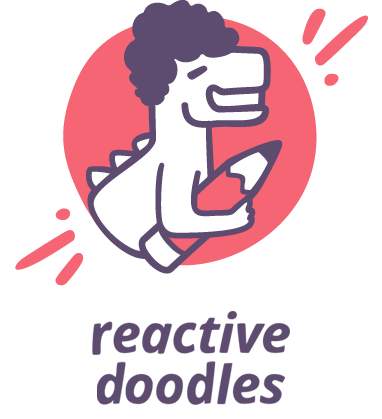 Logo of the Reactive Doodles App